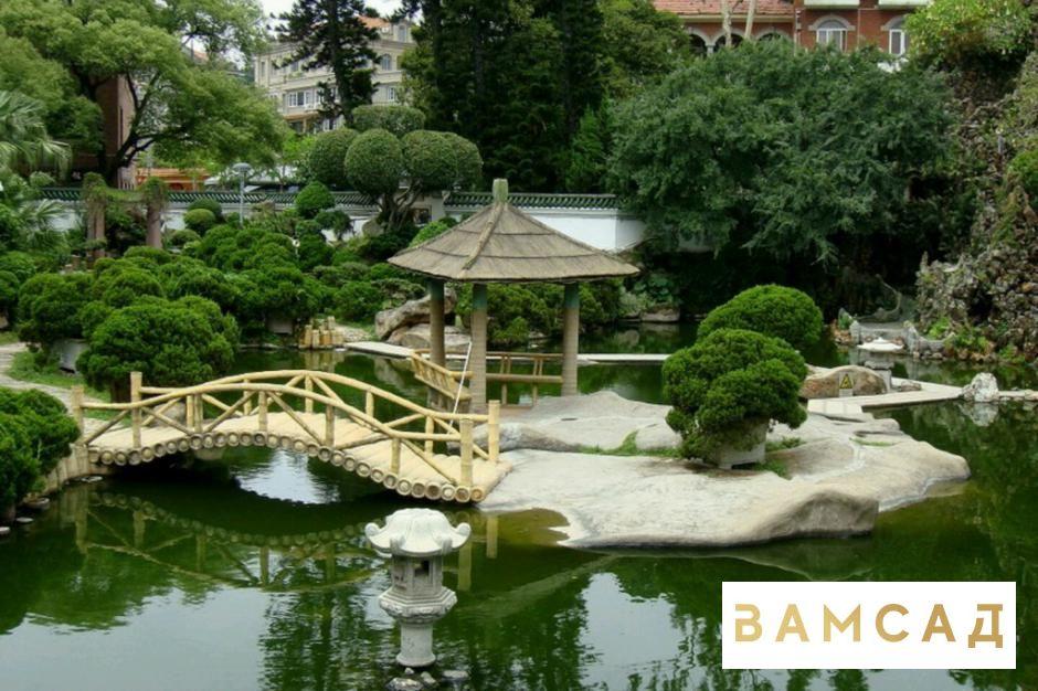 Ландшафтный дизайн озера
